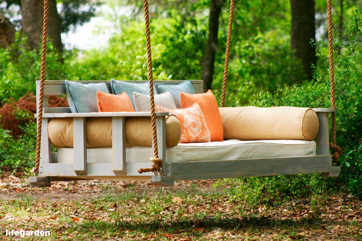 Как сделать своими руками диван качалку